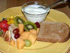 toast fruit
