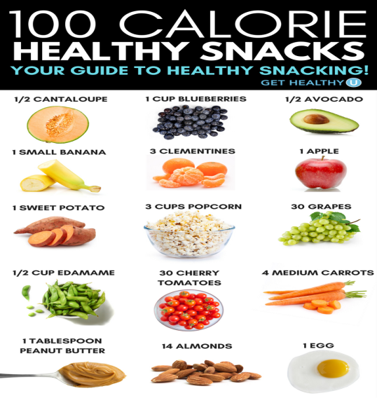 100 cal snacks