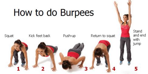 burpee how to